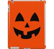 Jack-O-Lantern, Pumpkin Face iPad Case/Skin