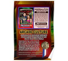 Arcade Culture Award (by Walter Day) Poster