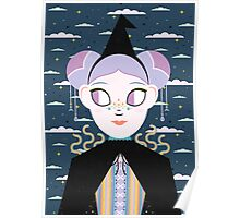 Rainbow Witch  Poster