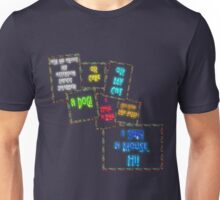 Ask me about my attention deficit disorder... Unisex T-Shirt