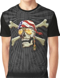 Scull and Cross Bones Graphic T-Shirt
