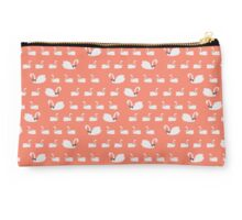 Swans at the Prom Studio Pouch