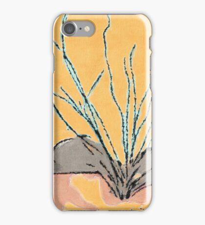 Ocotillo Leaves Us Alone iPhone Case/Skin