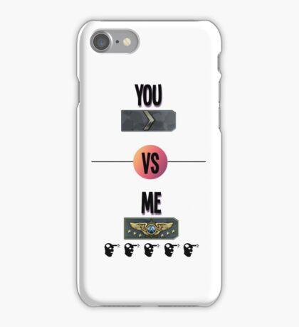 You vs Me CSGO iPhone Case/Skin