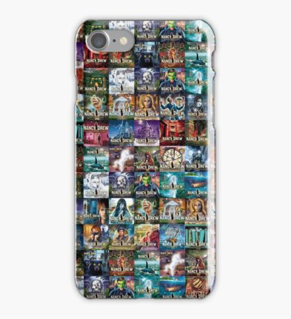 The Nancy Drew Collection (SPECIAL EDITION) All Over Print iPhone Case/Skin