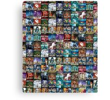 The Nancy Drew Collection (SPECIAL EDITION) All Over Print Canvas Print