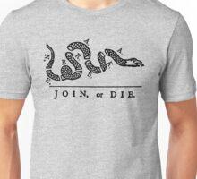 Nebraska Join Or Die Unisex T-Shirt