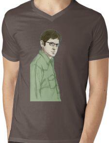 theroux Mens V-Neck T-Shirt