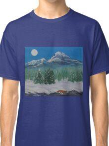 Fox, Under the Moon Classic T-Shirt