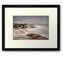 The Forty Foot, Dublin Framed Print
