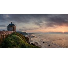 Mussenden Sunset Photographic Print