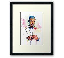 James Bond: A Splatter Geek Original Framed Print