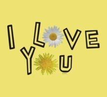 I love you on spicy mustard One Piece - Short Sleeve