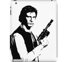 Han Solo - The Scruffy Looking Nerf Herder iPad Case/Skin