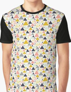 Geometric Triangles Graphic T-Shirt