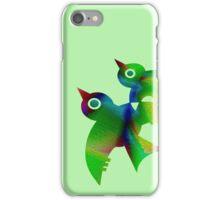 Birds - forest animals, flying, fluttering sky iPhone Case/Skin