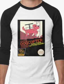 Super Dogcopter! Men's Baseball ¾ T-Shirt