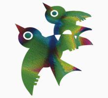 Birds - forest animals, flying, fluttering sky Kids Clothes