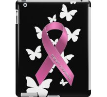 Pink Ribbon Support Breast Cancer Awareness iPad Case/Skin