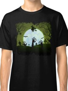 Zombies and a Witch Classic T-Shirt