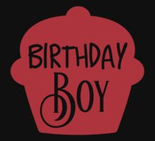 Birthday Boy Cupcake Kids Tee