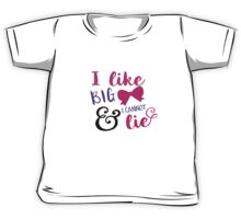 I Like Big Bows & I Cannot Lie Kids Tee