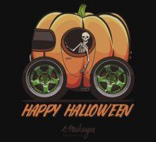 Happy Halloween. Pumpkin car Kids Tee