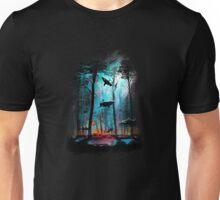 Shark In Forest Unisex T-Shirt