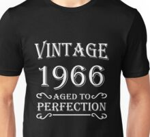 Vintage 1966 - Aged to perfection Unisex T-Shirt