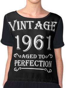 Vintage 1961 - Aged to perfection Chiffon Top