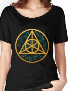 Triangle Symbol Women's Relaxed Fit T-Shirt