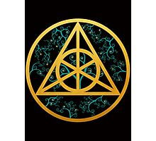 Triangle Symbol Photographic Print