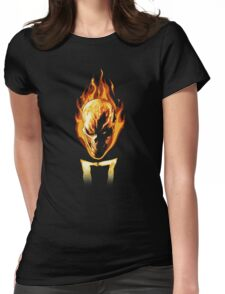 The Rider Womens Fitted T-Shirt