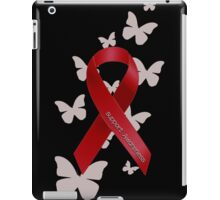 Support Red Ribbon Awareness iPad Case/Skin