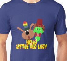 """Chorlton & Kettle Witch-""""Hello, Little Old Lady"""" Unisex T-Shirt"""