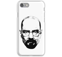 Walter White & Black iPhone Case/Skin