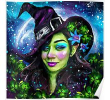 witch fairy Poster