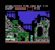 Castlevania 3 by clearspace80