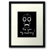 Doctor Who - Are you my mummy ? Framed Print