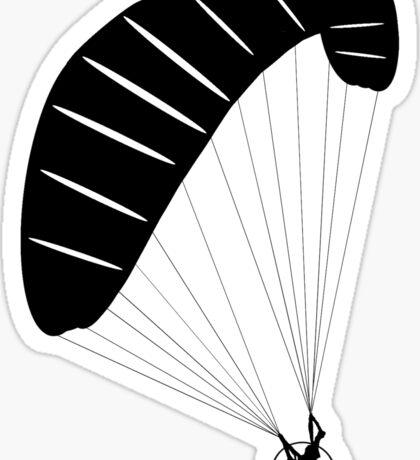 Paraglider Silhouette Sticker