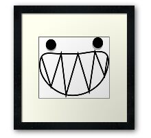 Headless Comedy Framed Print