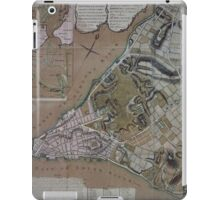 444 Plan of New York City of New York and its environs to Greenwich Town Survey'd in the winter 1775 iPad Case/Skin