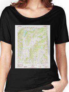 USGS TOPO Map Arkansas AR Lorado 258966 1983 24000 Women's Relaxed Fit T-Shirt