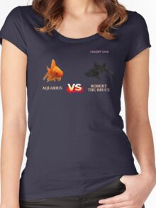 Street Fightin' Fish Women's Fitted Scoop T-Shirt