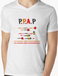 PPAP Pen pineapple apple pen tshirt Mens V-Neck T-Shirt