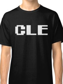 Tecmo Bowl Cleveland Browns Football 8-Bit NES Nintendo Pixel Type Shirt T-shirt Classic T-Shirt