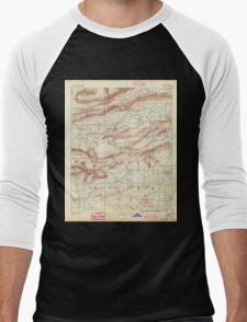 USGS TOPO Map Arkansas AR Mount Ida 260535 1890 125000 Men's Baseball ¾ T-Shirt
