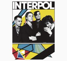 Interpol shirt design #1 by Shaina Karasik