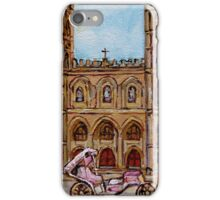 EGLISE NOTRE DAME CHURCH MONTREAL iPhone Case/Skin