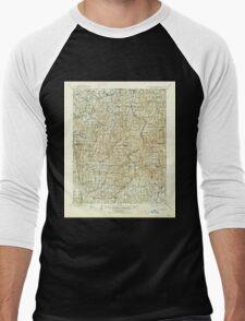 USGS TOPO Map Arkansas AR Winslow 260570 1901 125000 Men's Baseball ¾ T-Shirt